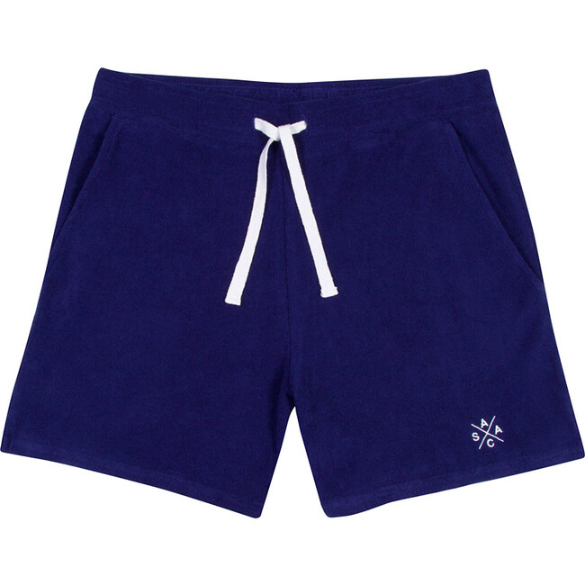 Men's Andy Cohen Navy Terry Toweling Shorts