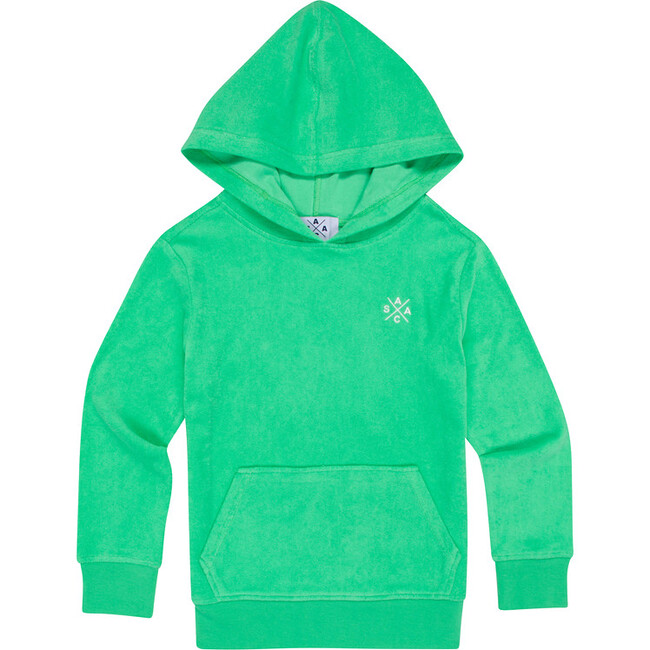 Kid's Andy Cohen Mint Terry Toweling Hoodie