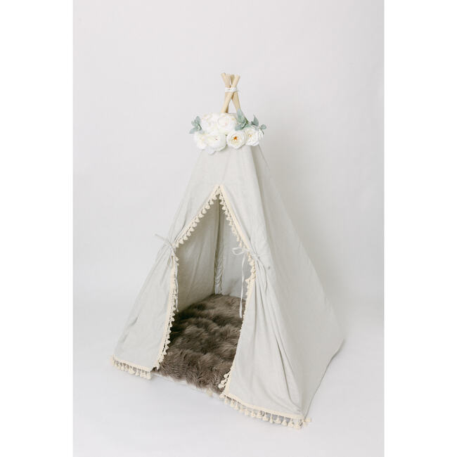 Play Tent Topper, White Deluxe
