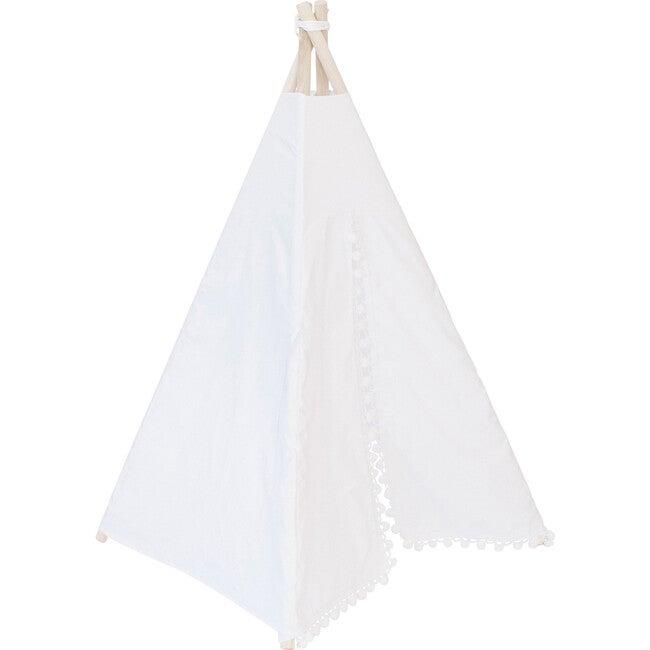 Itty Bitty Beckett Play Tent, White