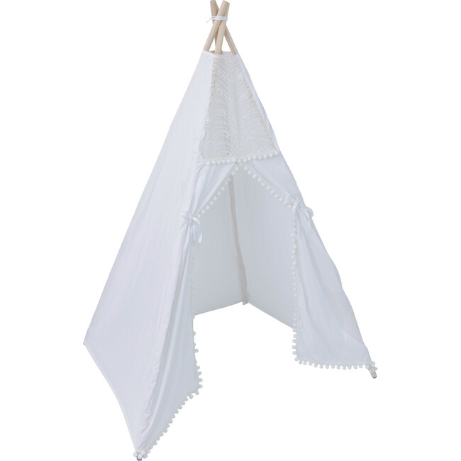 Evelyn Play Tent, White
