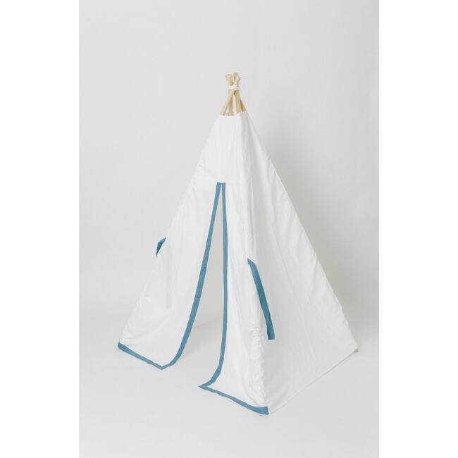 Tyler Play Tent, White/Denim