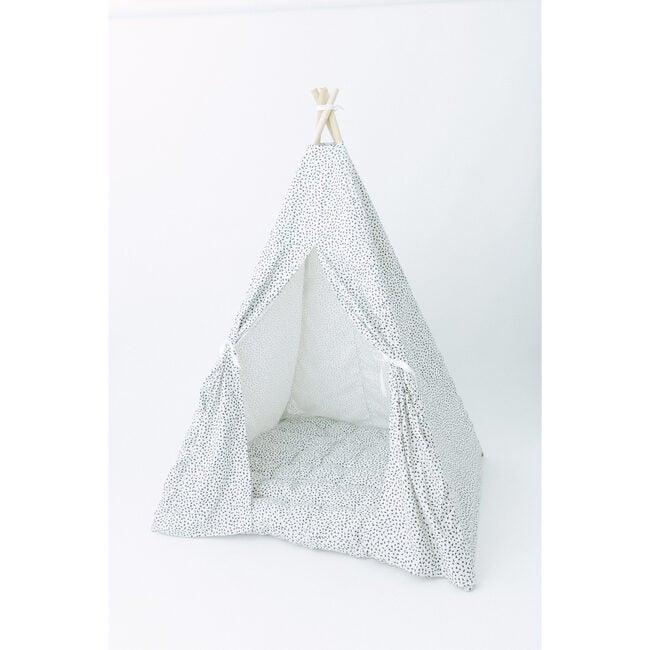Anita Play Tent, White/Black Spot