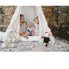 Colette Play Tent, Cream Swiss Dot - Teepees - 2