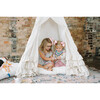 Colette Play Tent, Cream Swiss Dot - Teepees - 7