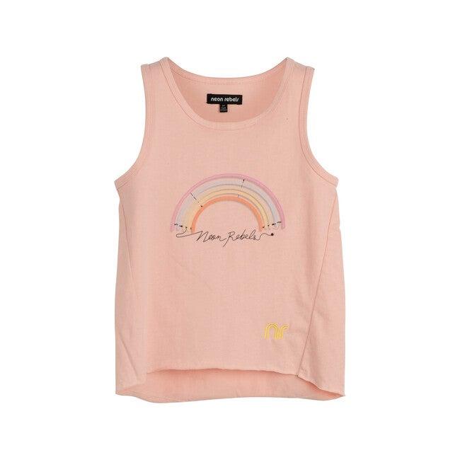 Kat Tank Jersey, Light Pink