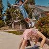 Domino Slub Ringer Tee, Neon Pink - Shirts - 7
