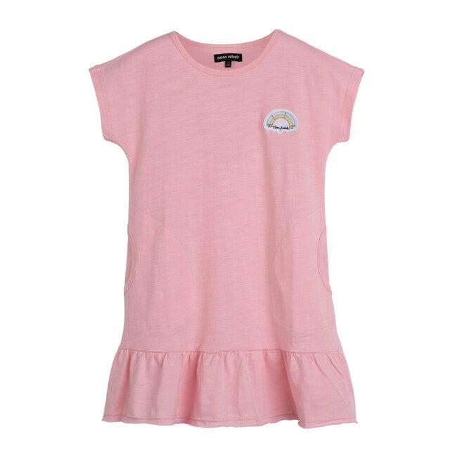 Sia Slub Dress, Light Pink