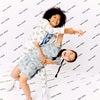 Coco Ruffle Dress, Xenon Blue Rainbow - Dresses - 4