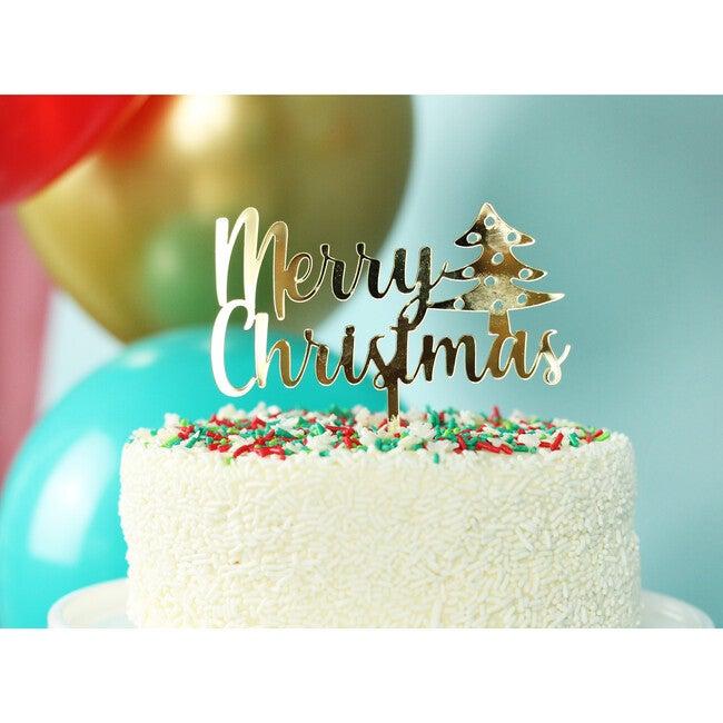 Christmas Sparkles Acrylic Topper