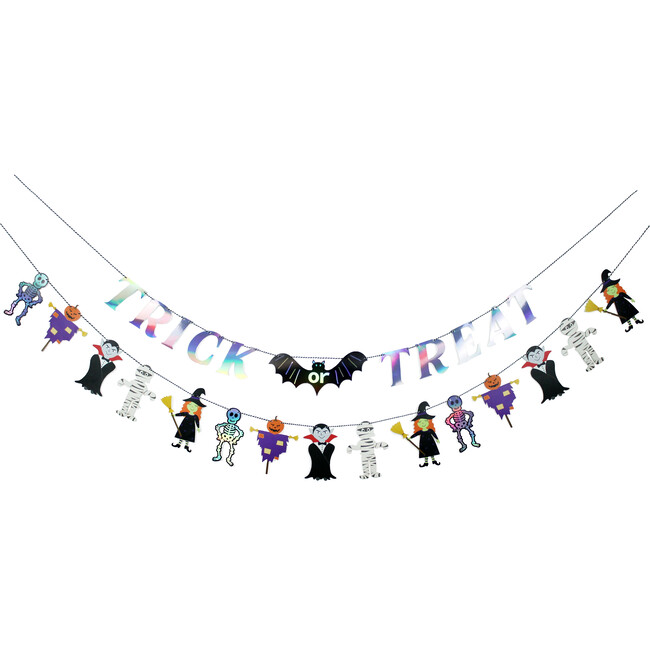 Trick or Treat Party Banner