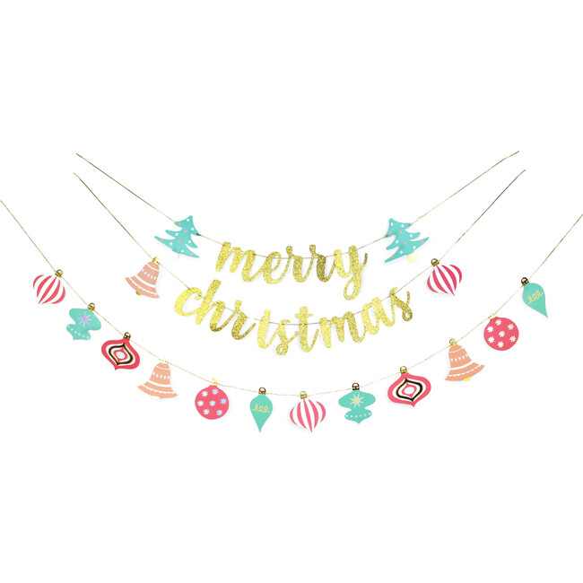 Christmas Sparkles Party Banner