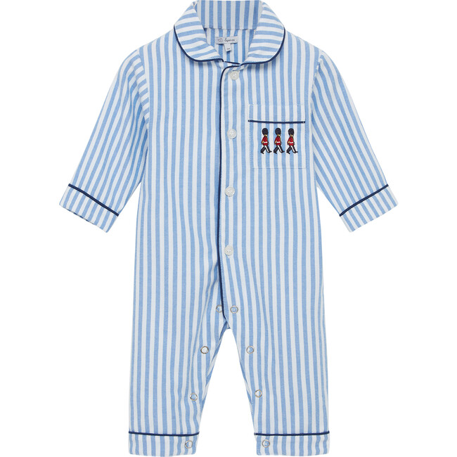Felix All In One, Blue Stripe - One Pieces - 1
