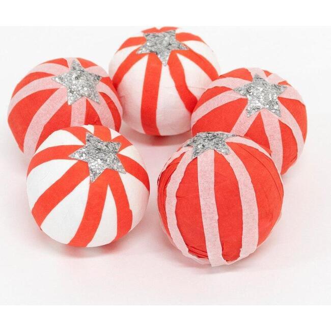 Peppermint Candy Surprise Balls