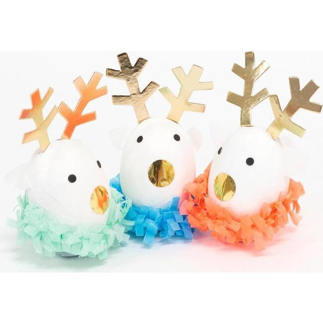 Festive Reindeer Surprise Balls