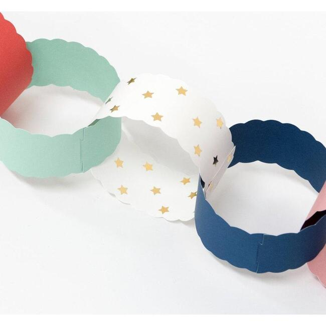 Scalloped Christmas Paper Chains
