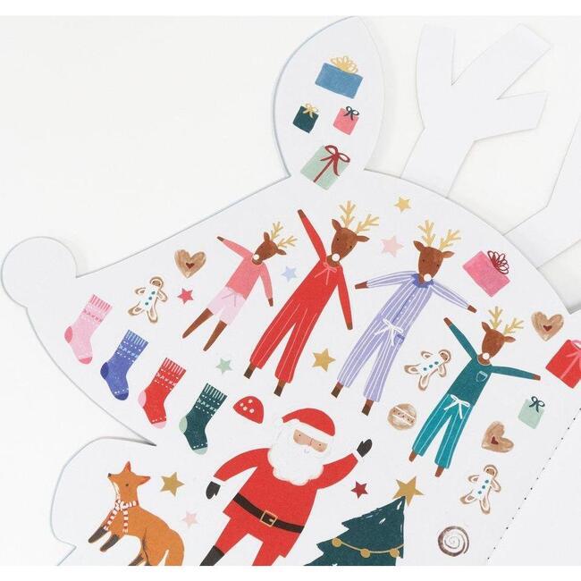 Reindeer Sticker Sketch Book