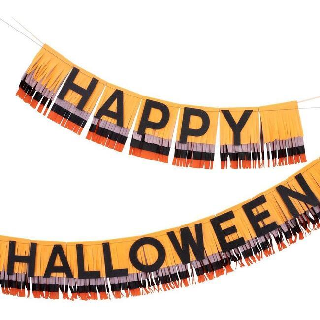 Halloween Fringe Garland