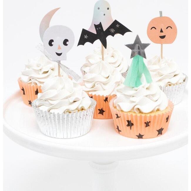 Pastel Halloween Cupcake Kit