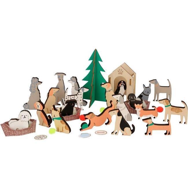 Dog Advent Calendar Suitcase