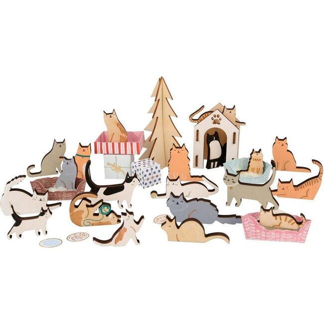 Cat Advent Calendar Suitcase