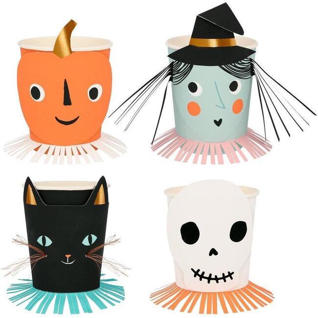 Vintage Halloween Cups