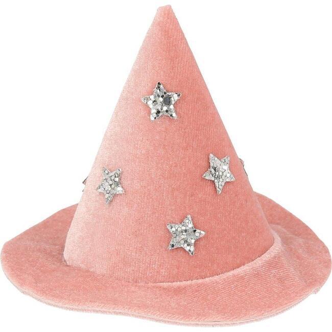 Velvet Witch Hat Hair Clip