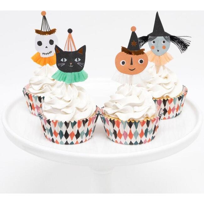 Vintage Halloween Cupcake Kit