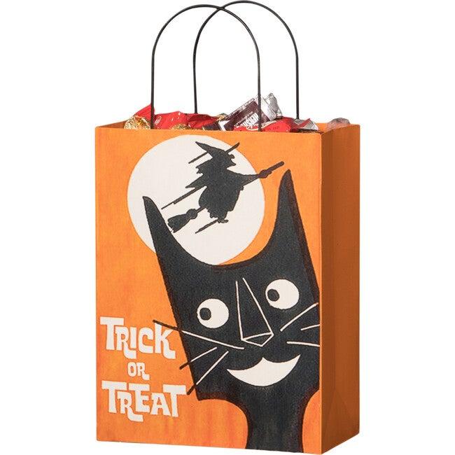 Tin Halloween Treat Bag, Large