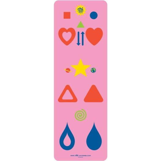 Chi Yoga Mat, Pink