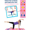 Chi Yoga Mat, Pink - Outdoor Games - 3