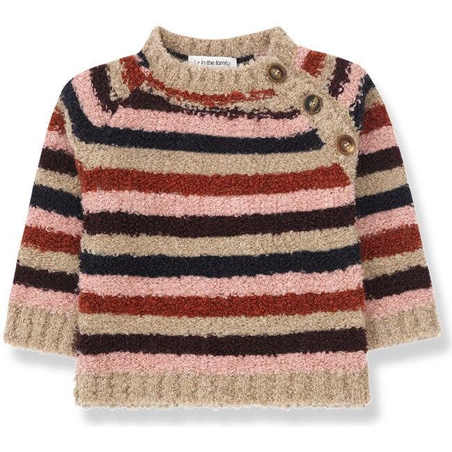 Zurich Sweater, Multi Stripe