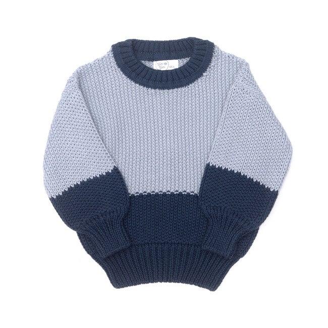 Noah Sweater, Blue & Navy