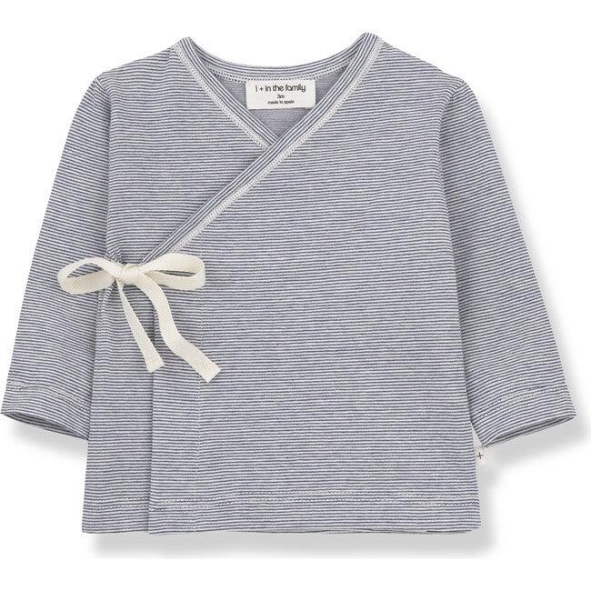 Lloret Newborn Shirt, Blue - Shirts - 1