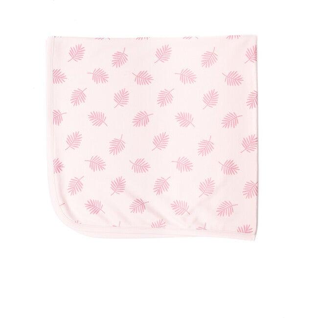 Leaves Blanket, Pink