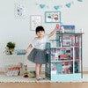 "Dreamland Barcelona 3.5"" Doll House - White / Pink - Dollhouses - 2"