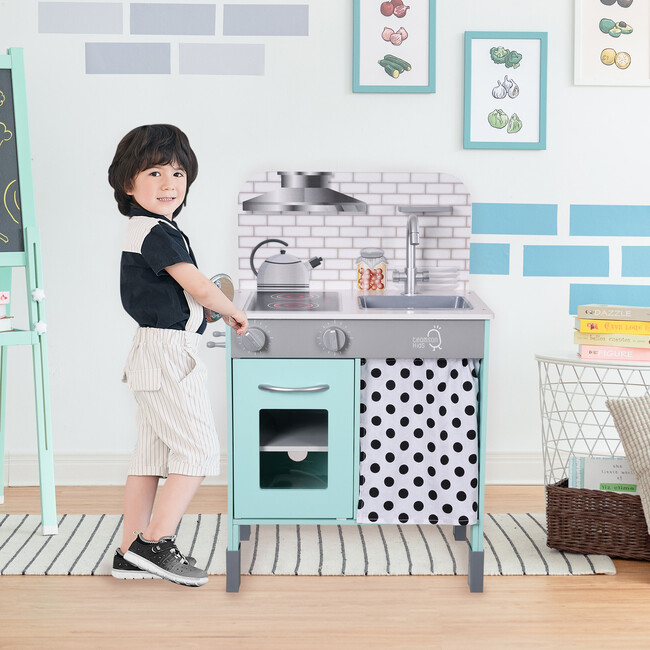 Little Chef Philly Modern Play Kitchen - Petrol