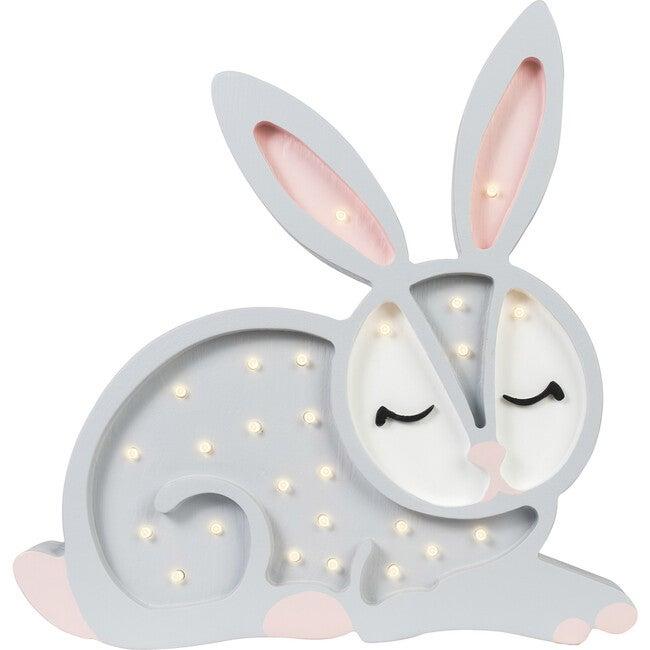 Bunny Lamp, Grey