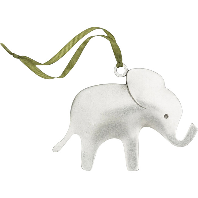 Elephant Ornament, Pewter