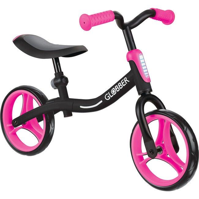 Go Bike, Black/Neon Pink - Bikes - 1