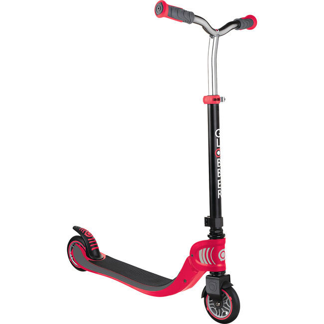 Flow 125 Foldable Scooter, Black/Red