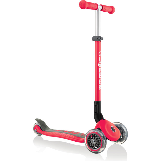 Primo Foldable Scooter, New Red