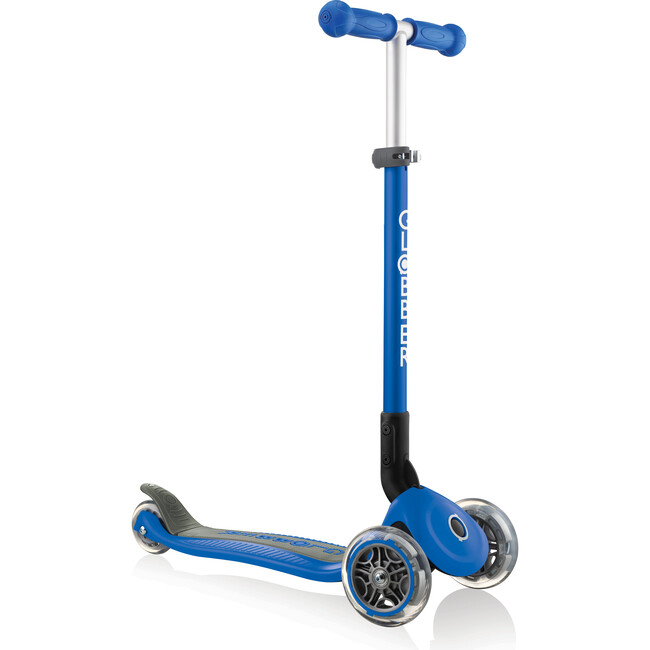 Primo Foldable Scooter, Navy Blue