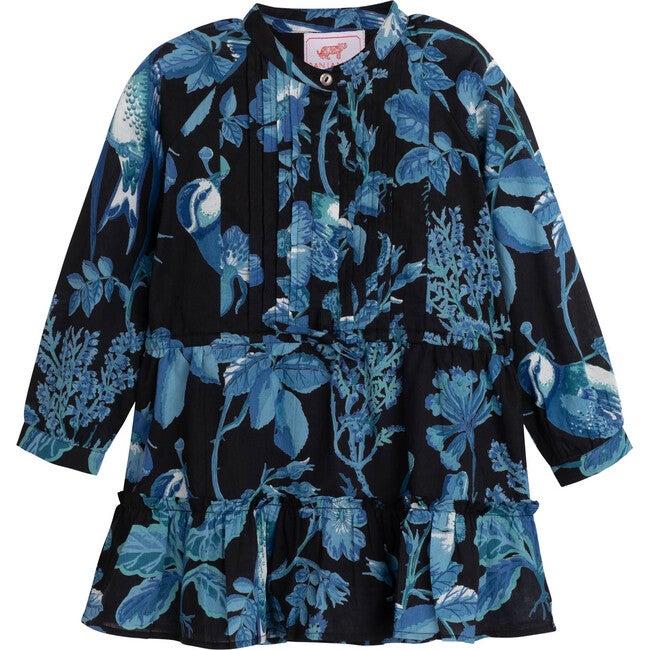 Bazaar Dress, Woden Hedgerow Black