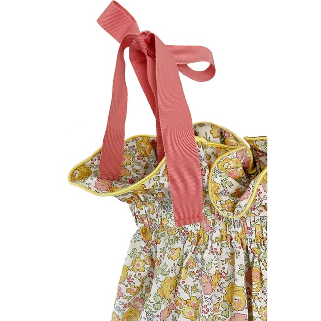 Girl's Jaime Dress in Melon Blossom, Melon Blossom