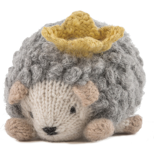 Haley The Hedgehog Toy, Grey and Natural
