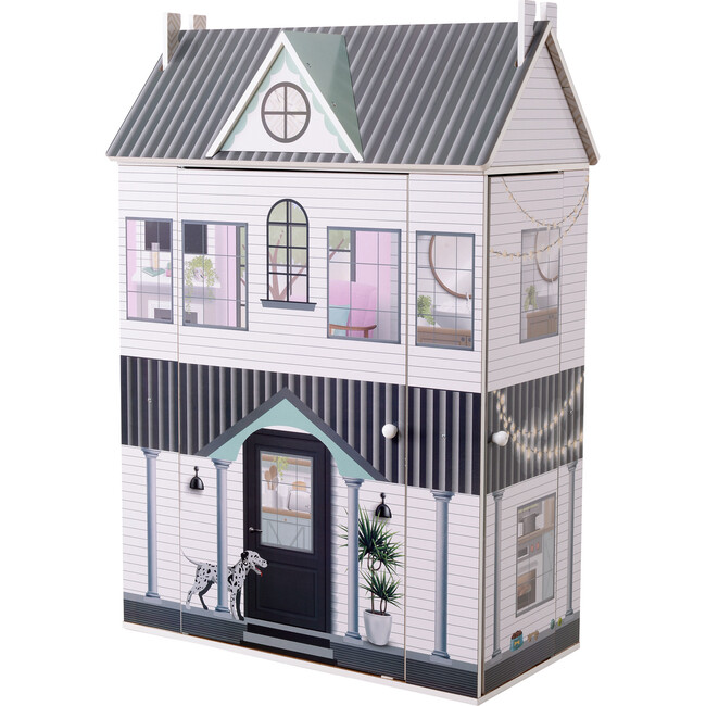 Dreamland 3 Side Open Farmhouse Doll House