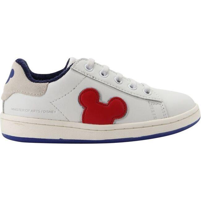 RWB Mickey Sneakers, White