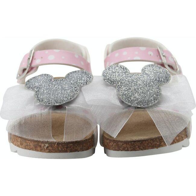 Minnie Motif Sandals, Pink