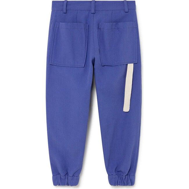 Retro Pants, Blue Klein